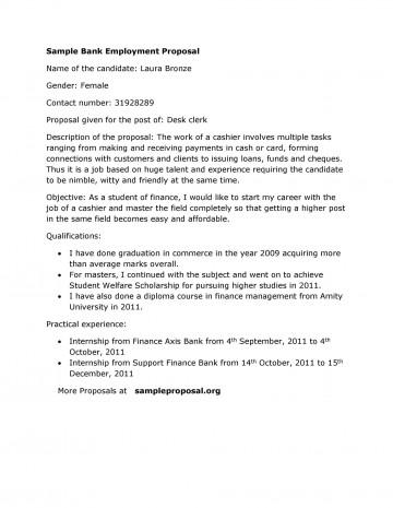 005 Surprising Writing A Job Proposal Template Sample Concept 360