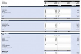 005 Top Excel Monthly Budget Template Photo  South Africa