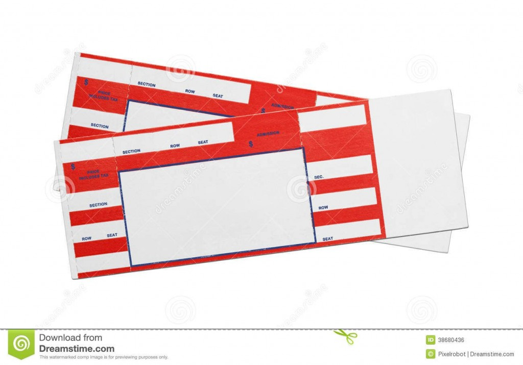 005 Top Free Concert Ticket Template Printable Picture  GiftLarge