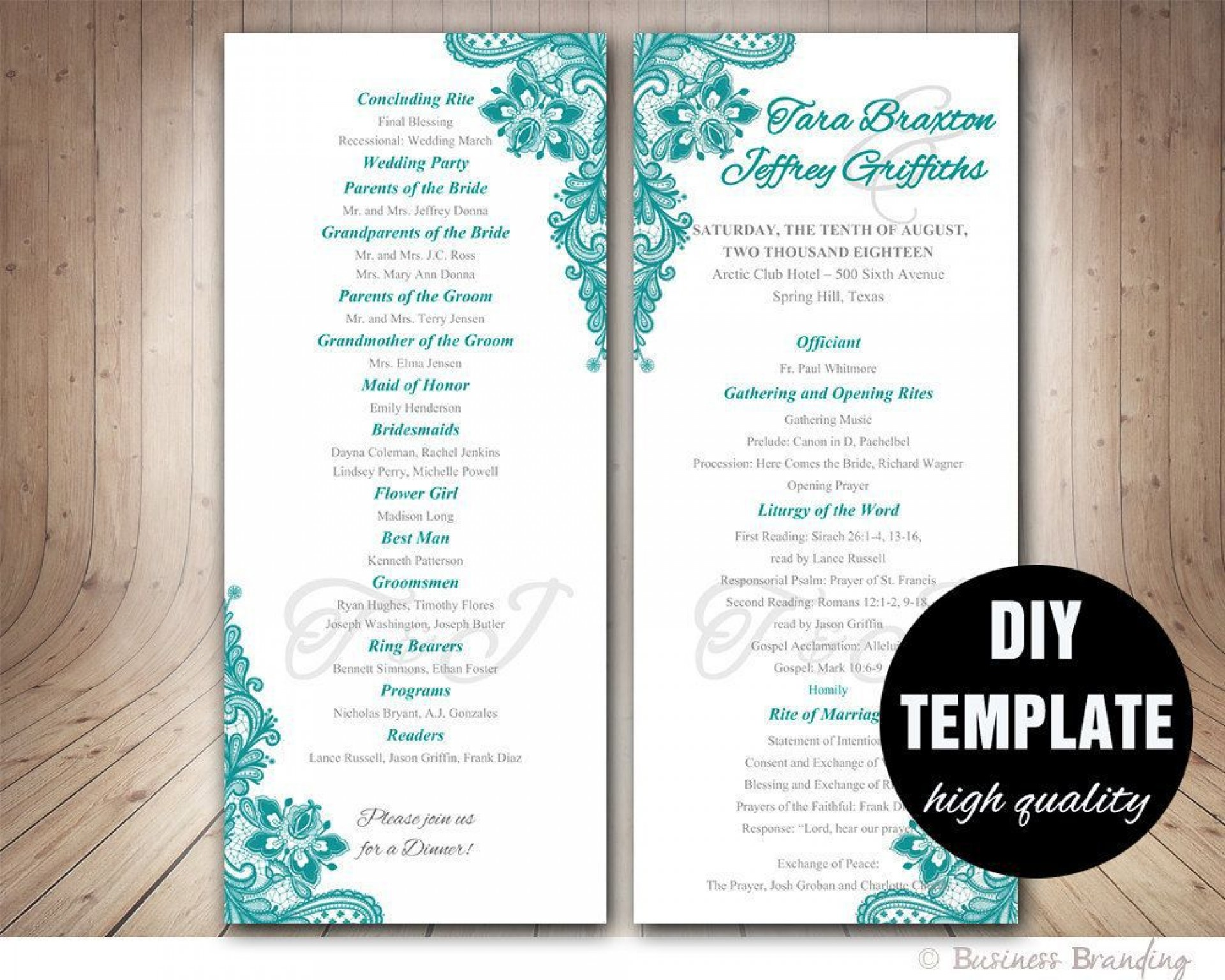 005 Top Free Download Template For Wedding Program High Def  Programs1920