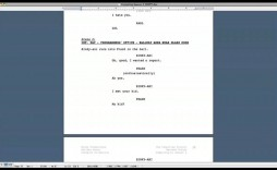 005 Top How To Use Microsoft Word Screenplay Template High Definition