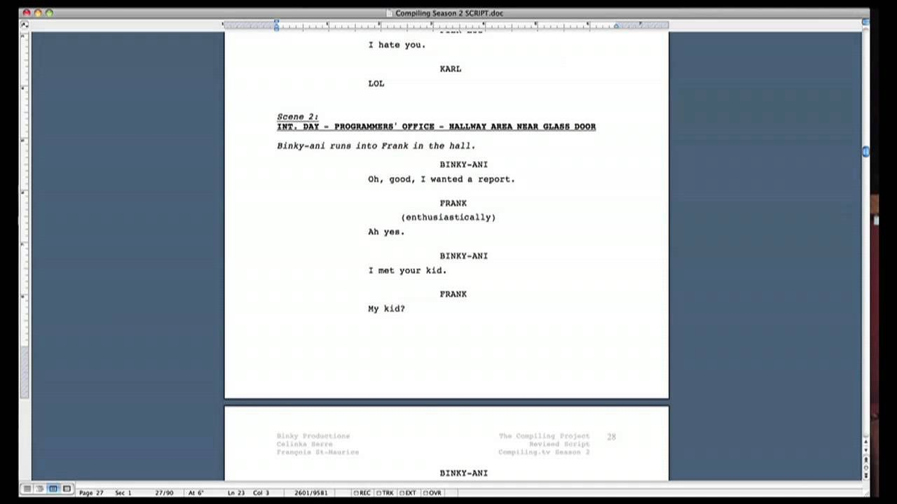 005 Top How To Use Microsoft Word Screenplay Template High Definition Full