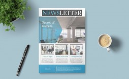 005 Top Indesign Newsletter Template Free Design  Cs6 Email Adobe Download