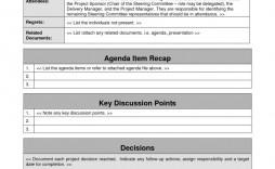 005 Top Meeting Agenda Template Doc Inspiration  Busines Sample Simple