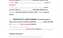 005 Top Office Lease Agreement Template Highest Clarity  Free Property Word