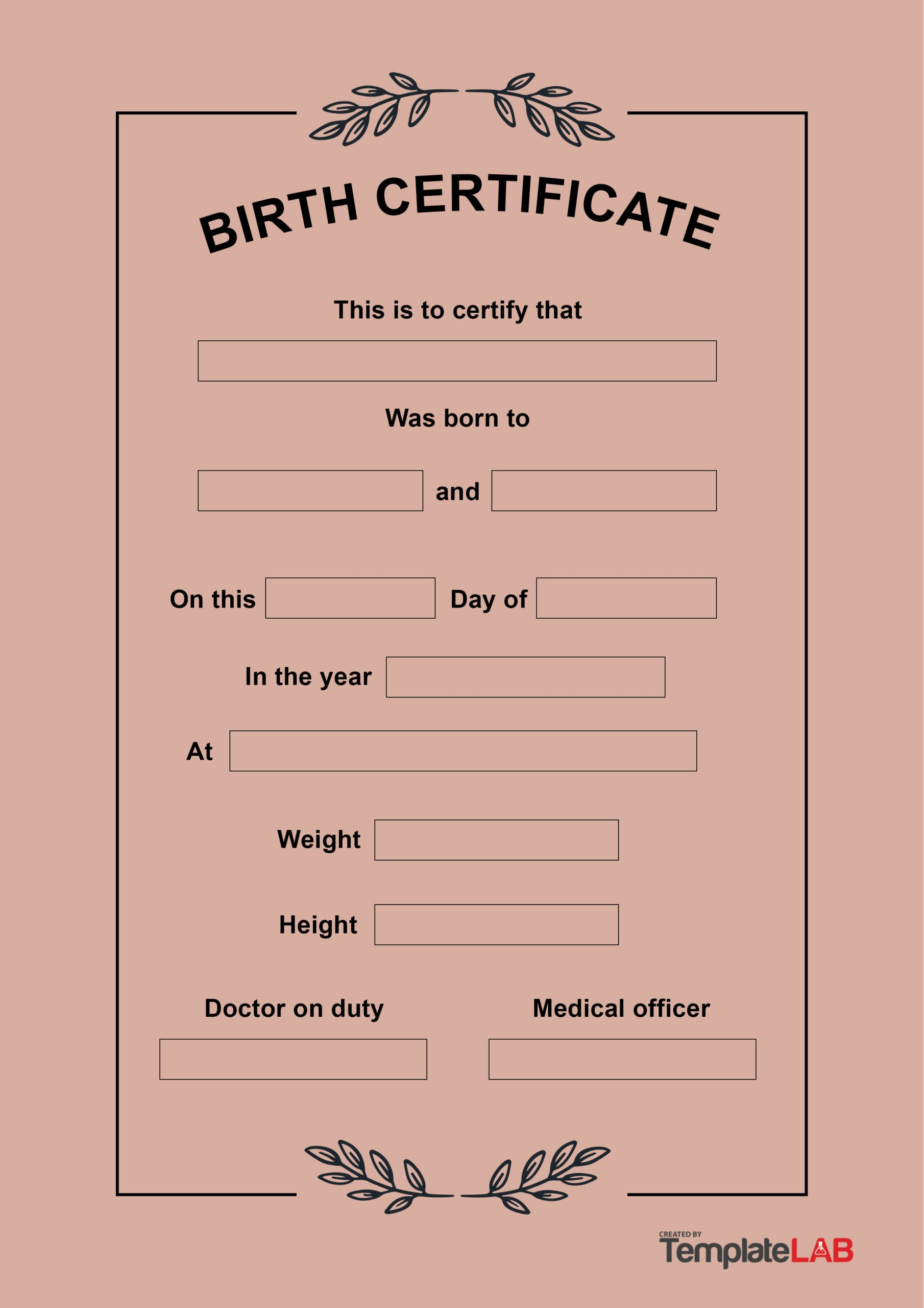 Real Birth Certificate Template from www.addictionary.org