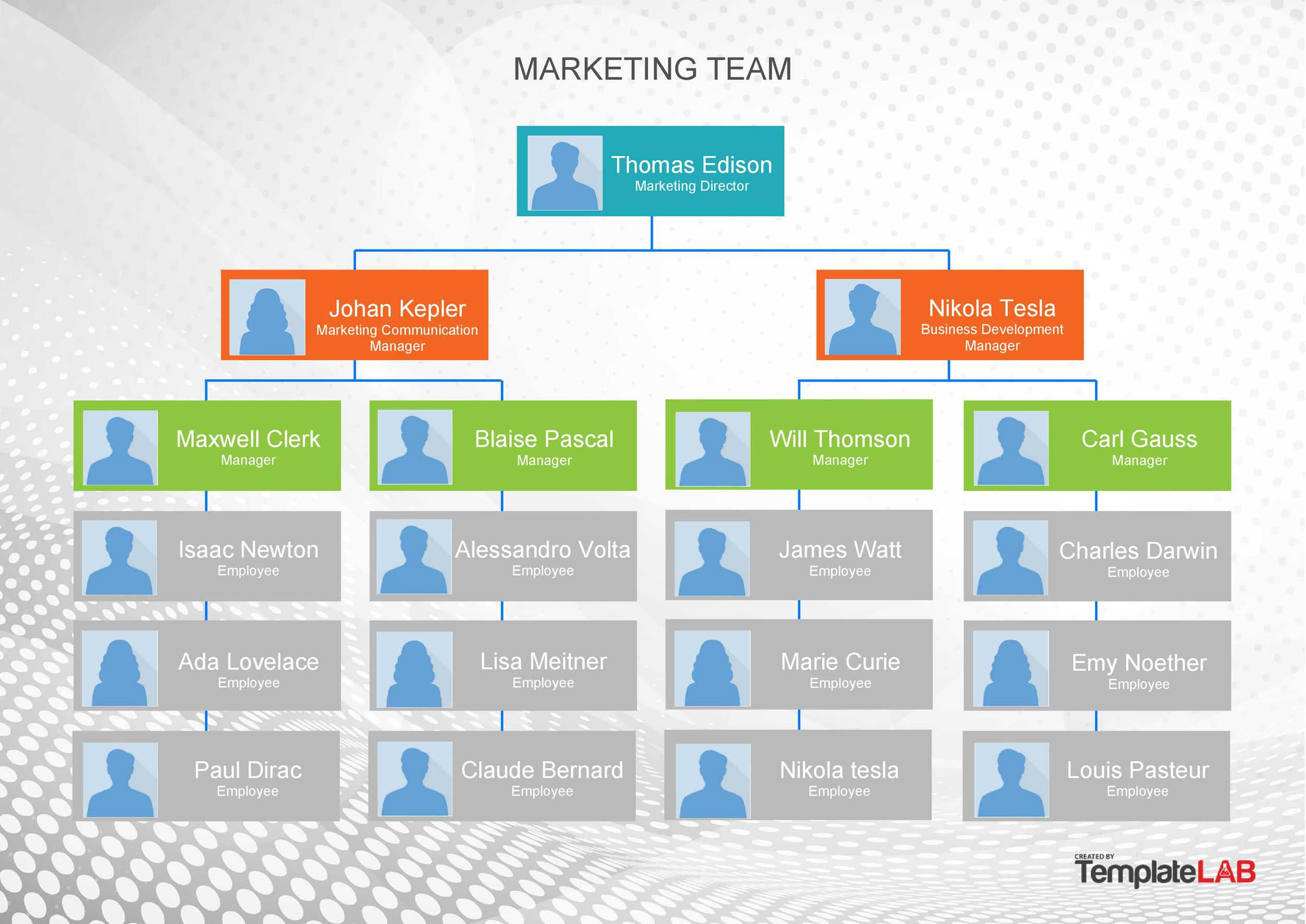 005 Top Org Chart Template Powerpoint Highest Quality  Free Organization Download Organizational 2010Full