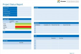 005 Top Project Management Progres Report Template Highest Clarity  Word Example Statu Template+powerpoint