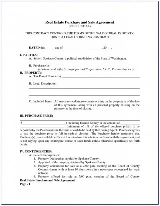 005 Top Property Purchase Agreement Template Free Picture  Mobile Home320