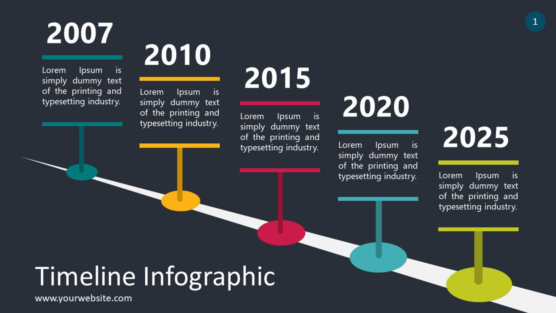 005 Top Timeline Infographic Template Powerpoint Download Highest Quality  Free1920