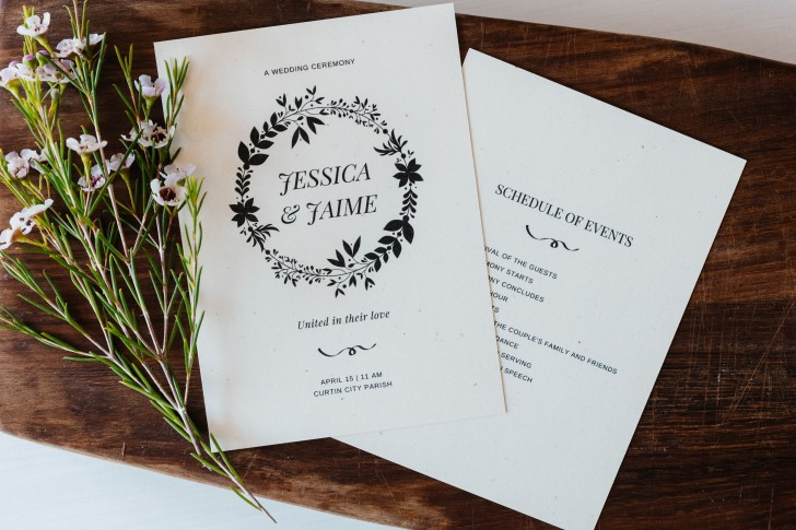 005 Top Wedding Order Of Service Template Free Inspiration  Front Cover Download Church728
