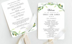 005 Top Wedding Program Fan Template High Resolution  Free Word Paddle Downloadable That Can Be Printed
