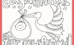 005 Unbelievable Baby Shower Card Printable Black And White Idea