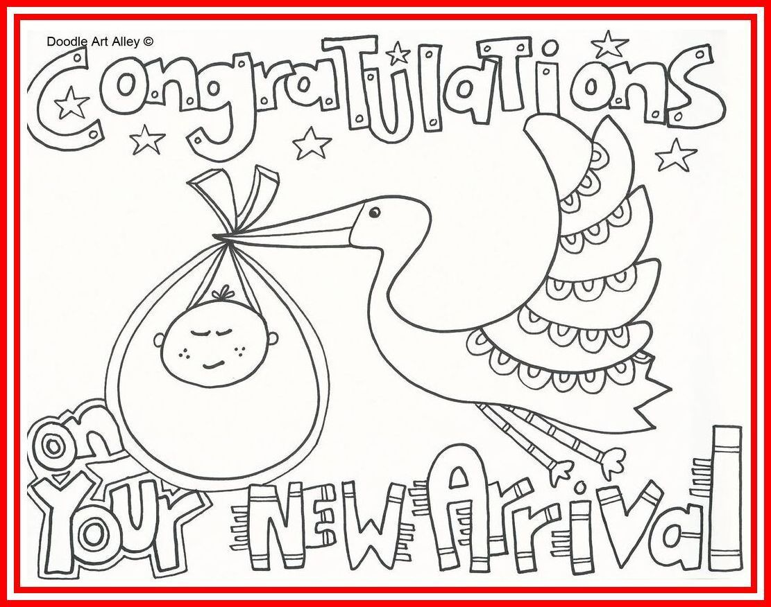 005 Unbelievable Baby Shower Card Printable Black And White Idea Full