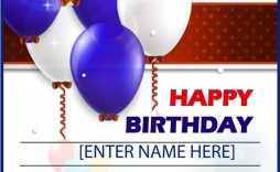 005 Unbelievable Birthday Card Template For Microsoft Word Concept  Free Greeting Layout