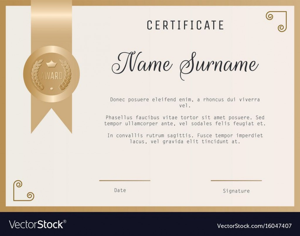005 Unbelievable Blank Award Certificate Template Sample  Printable Math Editable FreeLarge