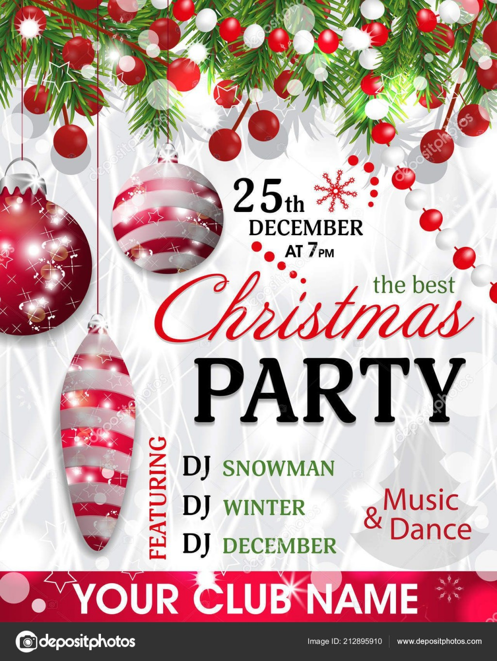 005 Unbelievable Christma Party Invitation Template Design  Funny Free Download Word CardLarge