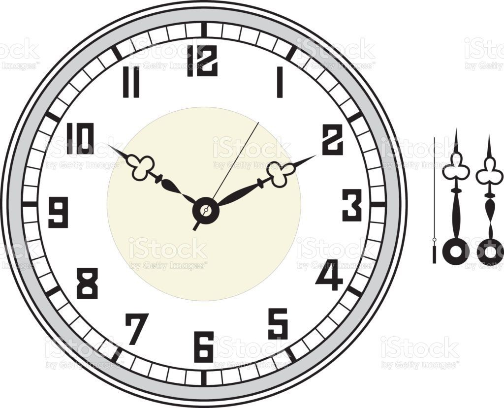 005 Unbelievable Customizable Clock Face Template Picture Large