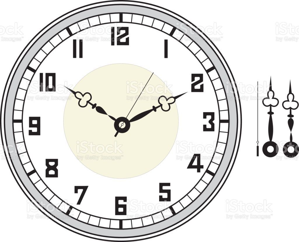 005 Unbelievable Customizable Clock Face Template Picture Full