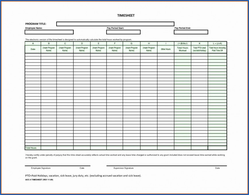 005 Unbelievable Daily Timesheet Template Free Printable High Definition