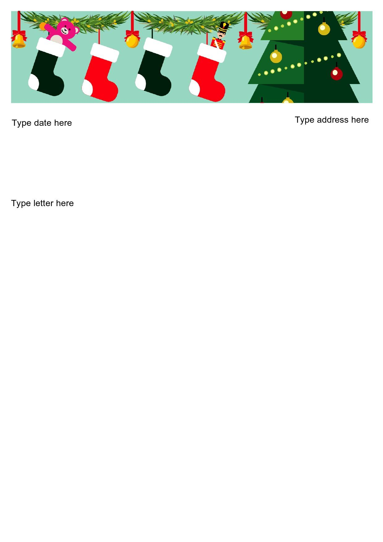 005 Unbelievable Free Christma Letter Template For Microsoft Word Image  Downloadable NewsletterFull