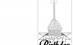 005 Unbelievable Free Printable Birthday Card Template For Mac Inspiration