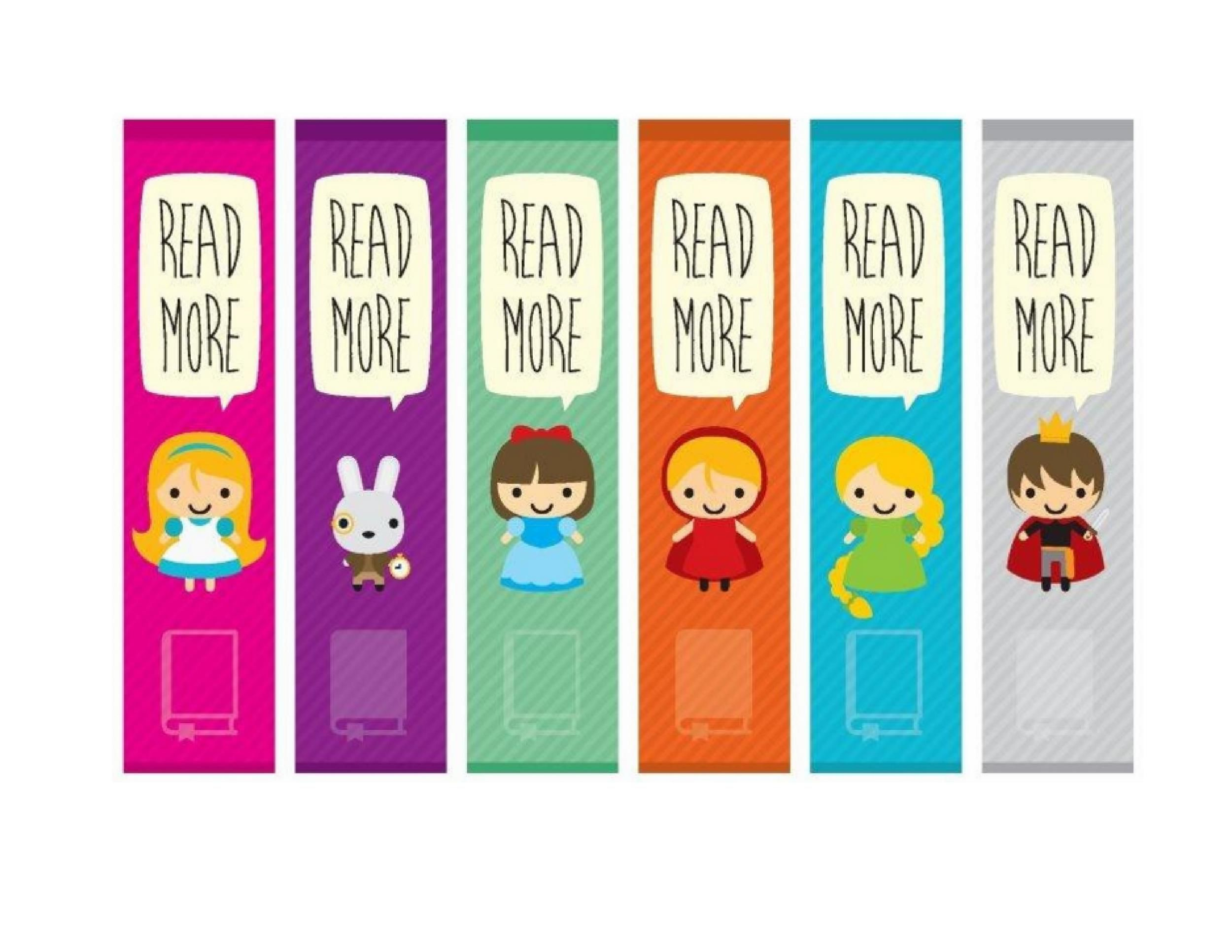 005 Unbelievable Free Printable Bookmark Template Highest Clarity  Templates Download Photo For TeacherFull