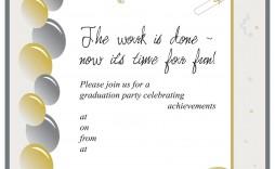005 Unbelievable Graduation Party Invitation Template Inspiration  Templates 4 Per Page Free Reception