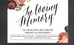 005 Unbelievable In Loving Memory Template Design  Templates Word