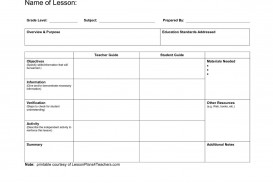 005 Unbelievable Lesson Plan Template Pdf Highest Quality  Free Printable Format In English