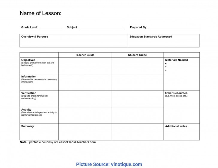 005 Unbelievable Lesson Plan Template Pdf Highest Quality  Free Printable Format In English728