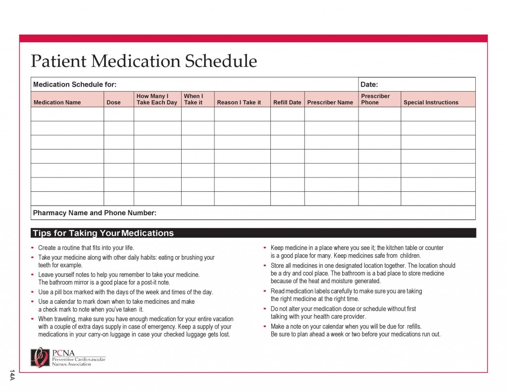 005 Unbelievable Monthly Medication Administration Record Template Excel High Definition Large