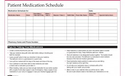 005 Unbelievable Monthly Medication Administration Record Template Excel High Definition