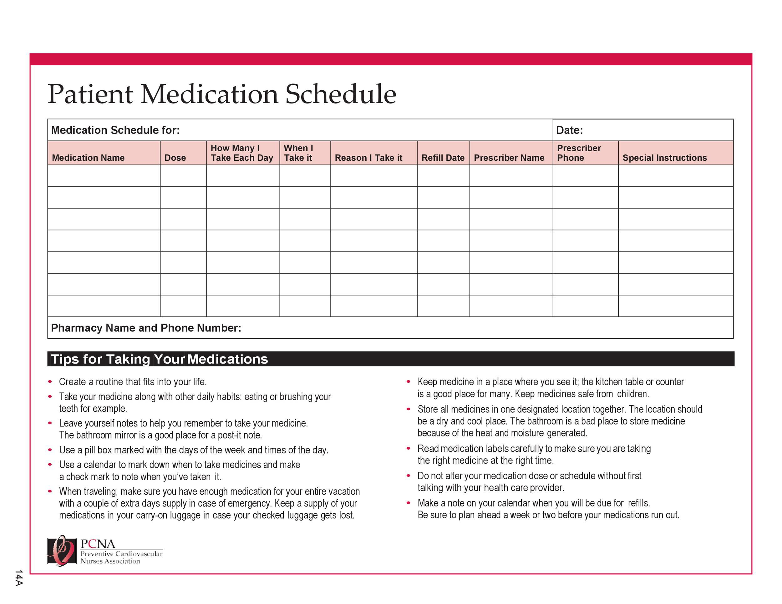005 Unbelievable Monthly Medication Administration Record Template Excel High Definition Full