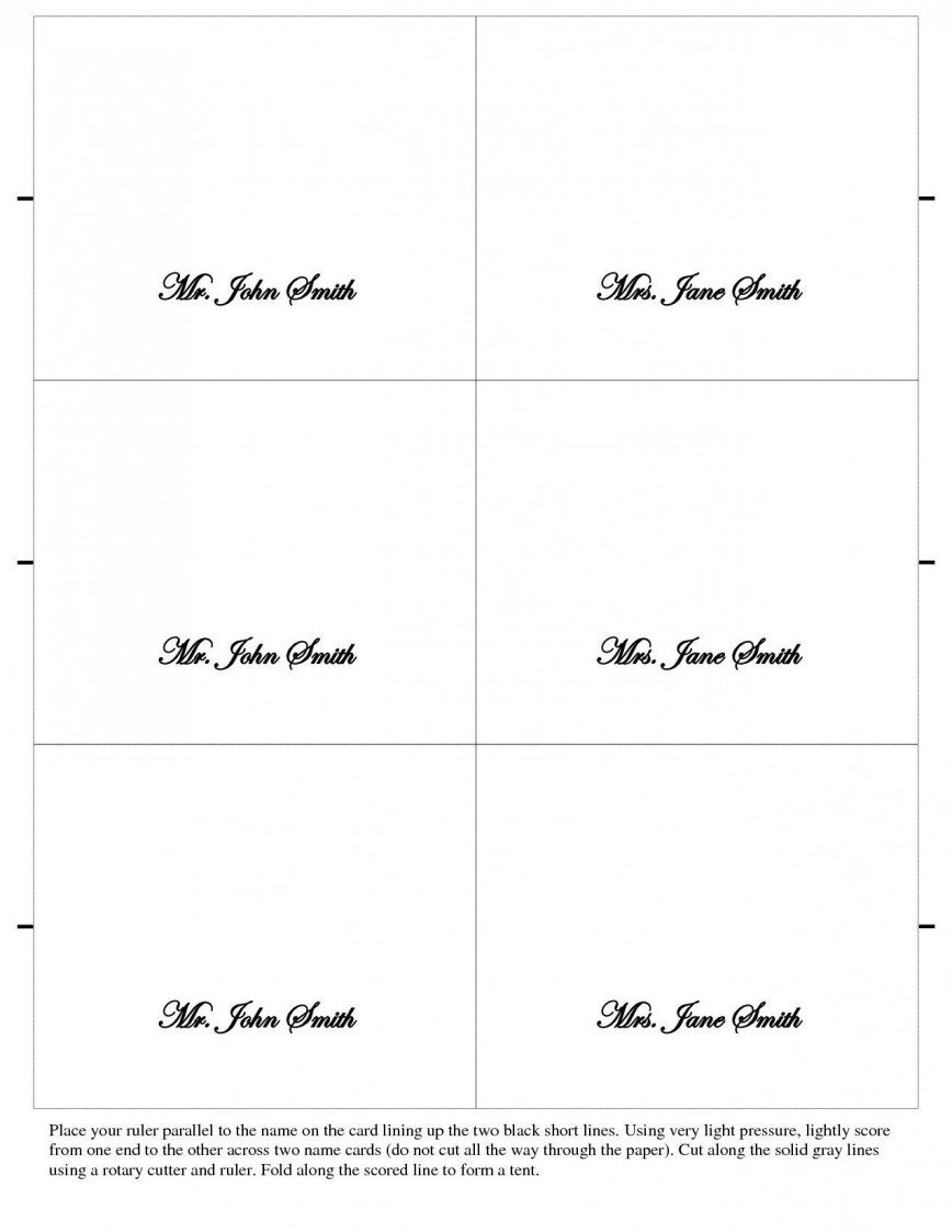 005 Unbelievable Name Place Card Template Free Download Highest Clarity  Table Ai