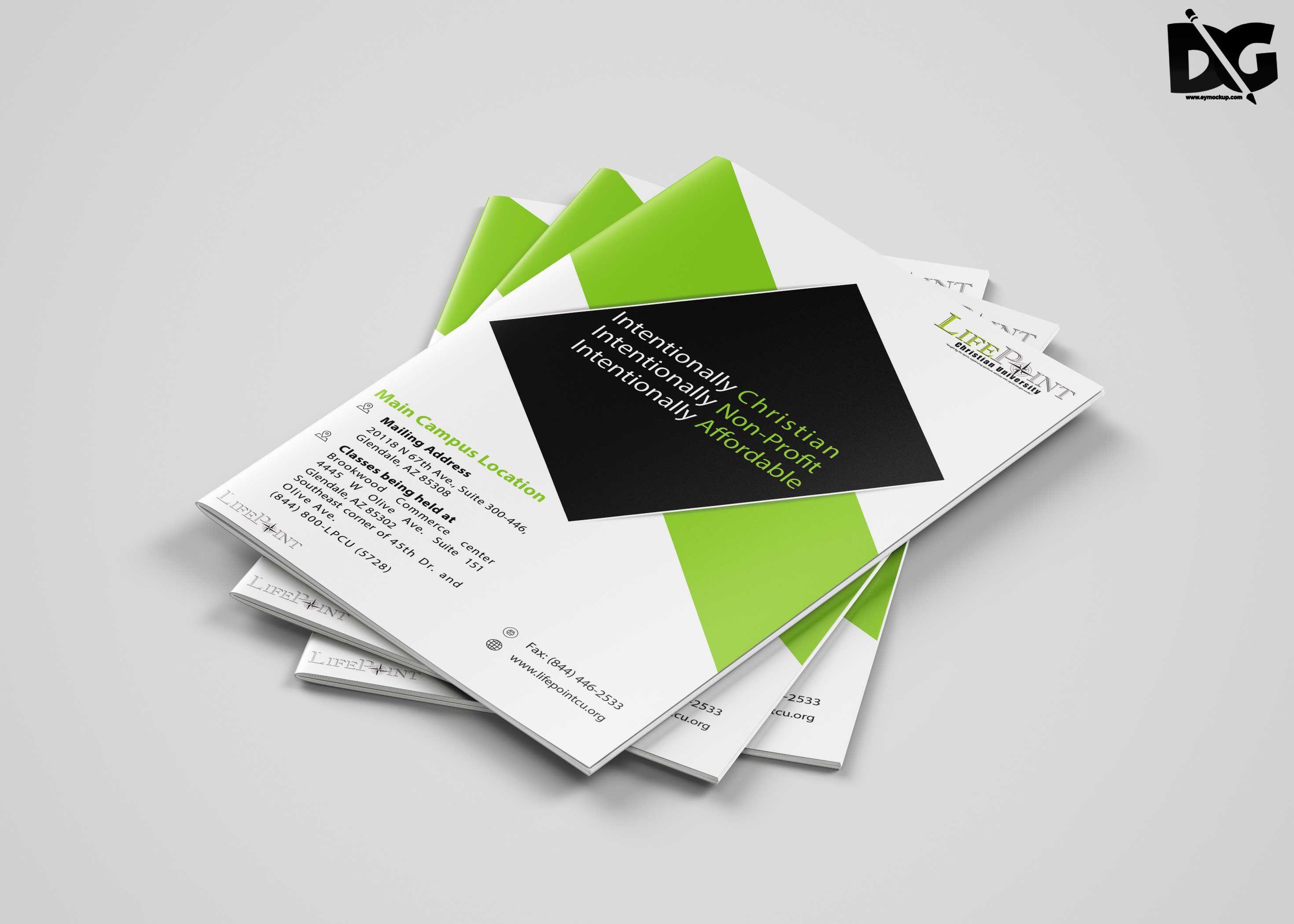 005 Unbelievable Photoshop Brochure Design Template Free Download Photo