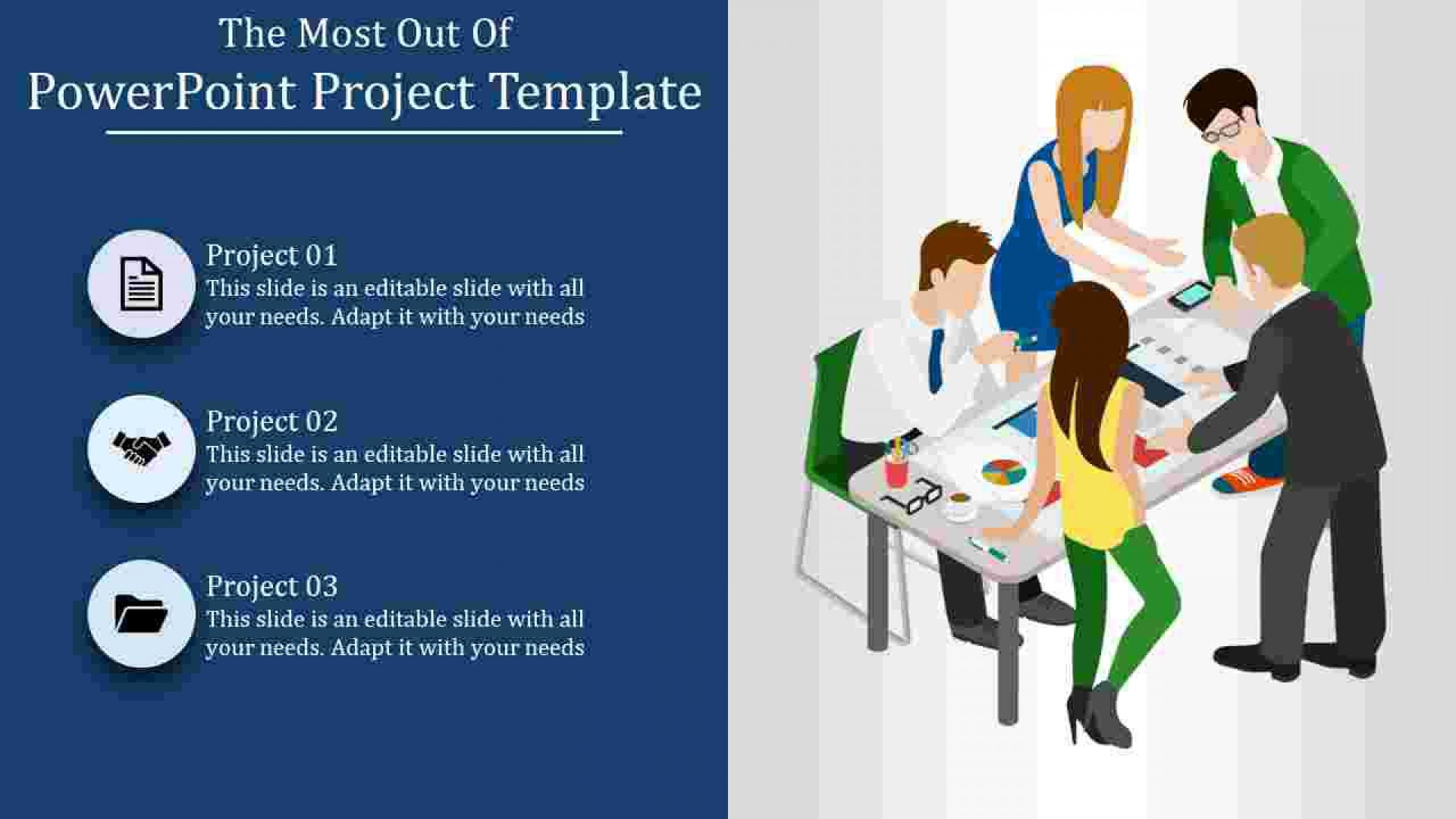 005 Unbelievable Project Role And Responsibilitie Template Powerpoint Design 1920
