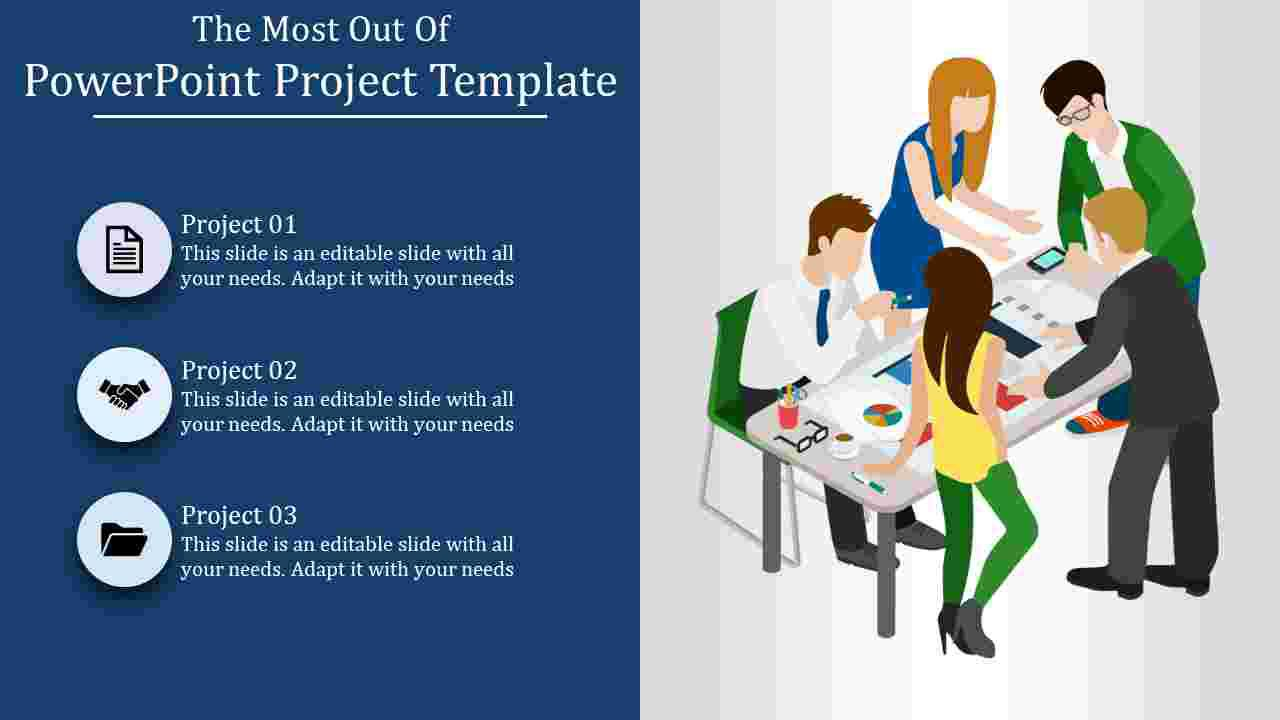 005 Unbelievable Project Role And Responsibilitie Template Powerpoint Design Full