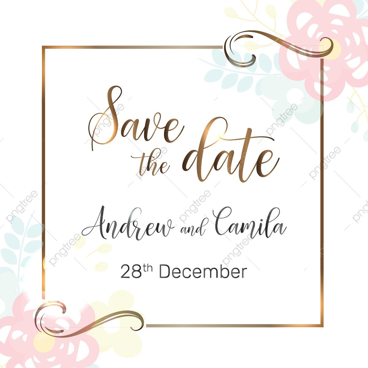 005 Unbelievable Save The Date Template Photoshop Inspiration  Adobe CardFull