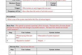 005 Unbelievable Use Case Template Word Example  Doc Test
