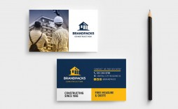 005 Unforgettable Construction Busines Card Template High Definition  Templates Visiting Company Format Design Psd