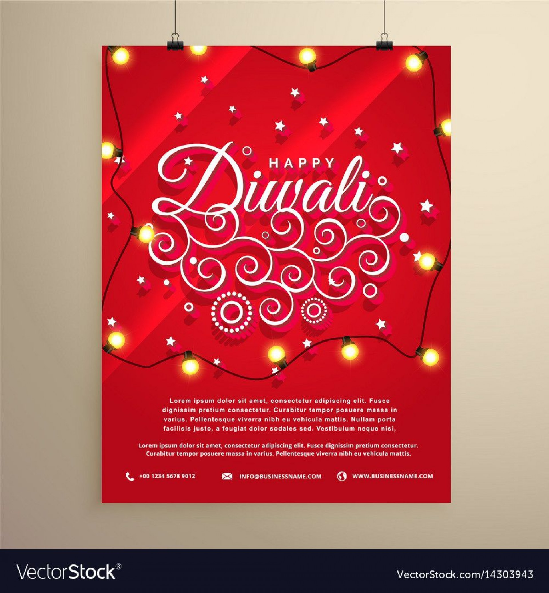 005 Unforgettable Diwali Party Invite Template Free Highest Quality 1920