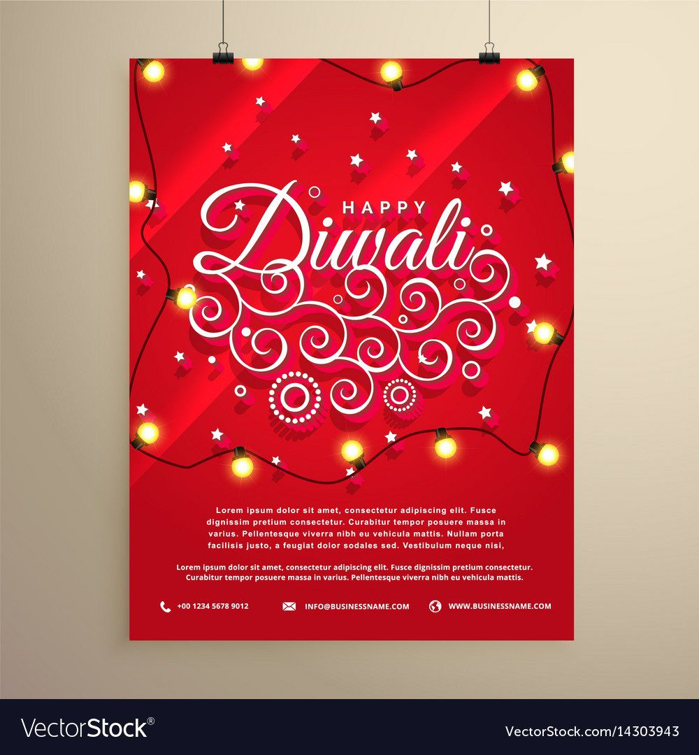 005 Unforgettable Diwali Party Invite Template Free Highest Quality Full
