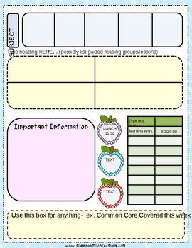 005 Unforgettable Editable Lesson Plan Template Kindergarten Highest Clarity  FreeFull