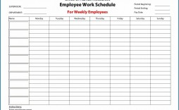 005 Unforgettable Free Employee Work Schedule Template Highest Quality  Templates Monthly Excel Weekly Pdf