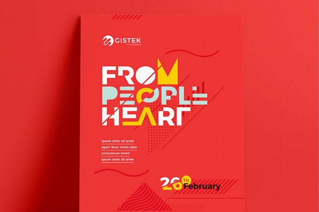 005 Unforgettable Free Photoshop Poster Template Download Picture  PsdFull