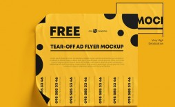 005 Unforgettable Free Tear Off Flyer Template High Resolution  Tear-off For Microsoft Word Printable With Tab