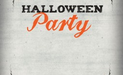 005 Unforgettable Halloween Party Invitation Template Concept  Templates Scary Spooky