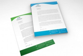 005 Unforgettable Letterhead Template Free Download Psd Sample  Corporate A4