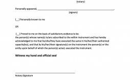 005 Unforgettable Notarized Letter Template Word High Resolution  Microsoft